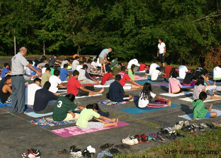 Early Birds at Yoga!