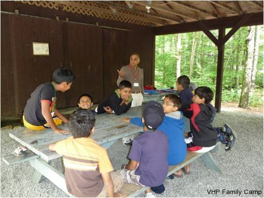 A Day in the life of a VHP Camper